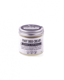 Ekologisk FOOT DEO Cream Citrus & Patchouli 60 ml, större